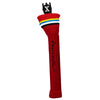 Red Knit Golf Headcovers