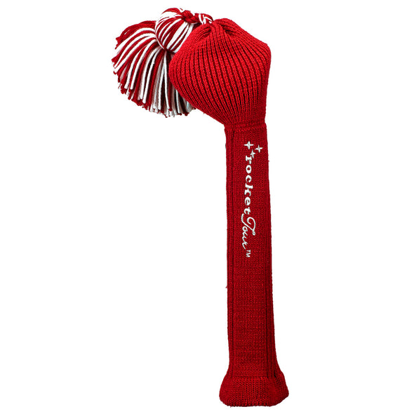 Solid Tassel Headcover - Red