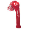 Solid Tassel Headcover with Flag - Canadian
