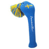Solid Tassel Headcovers with Flag - Swedish