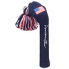 Solid Tassel Headcovers with Flag - USA