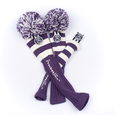 UTAH -UGA  - PURPLE/ WHITE STRIPES