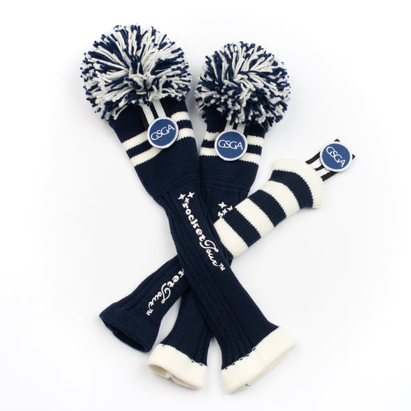 GSGA - TWO  STRIPE - NAVY  / WHITE (Select Size - each cover sold individually)
