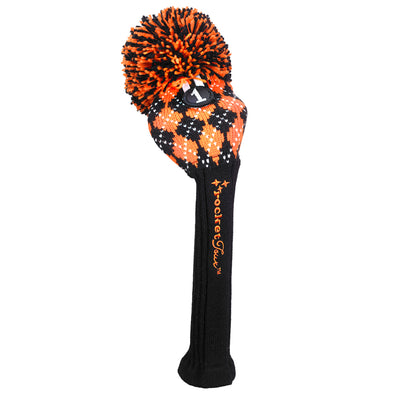 Black / Orange Golf Headcovers