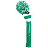 Rugby Stripe Pom Pom Headcovers - Grass Green / White
