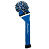 Victory Stripe Pom Pom Headcovers - Royal Black / White