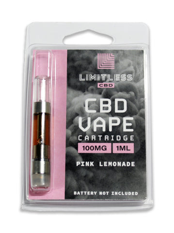 100mg CBD Vape Tank Cartridge - Limitless CBD