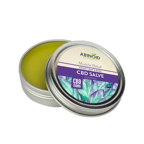 Hemp Extract [150 mg] Muscle Salve Violet Leaf & Basil 2oz - Limitless CBD
