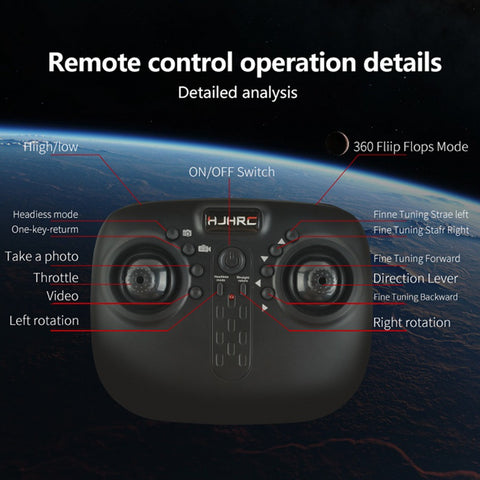 RC Drone HJ14Q FPV RC Quadcopter Drone with Camera 2 4G 6