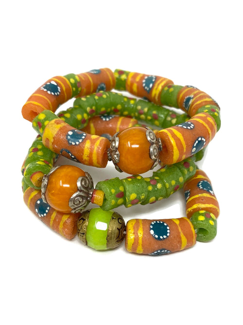 Handmade African Glass and Tibetan Bead Center