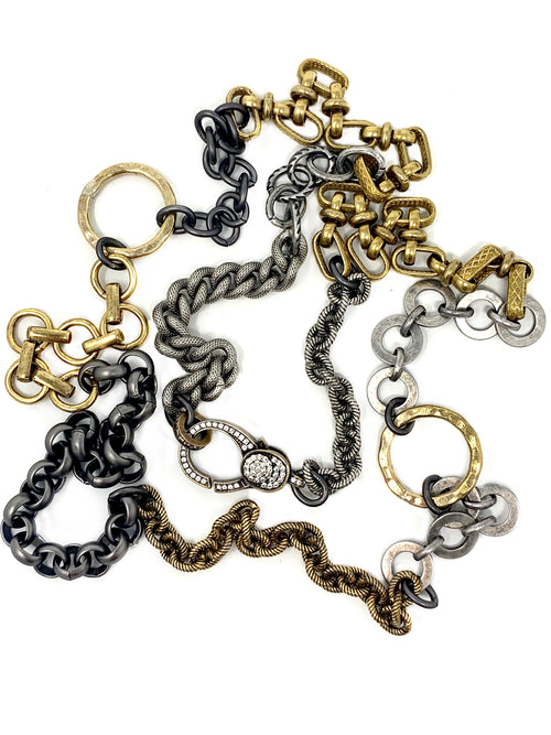 Mixed Metal, Two Tone Chain #3