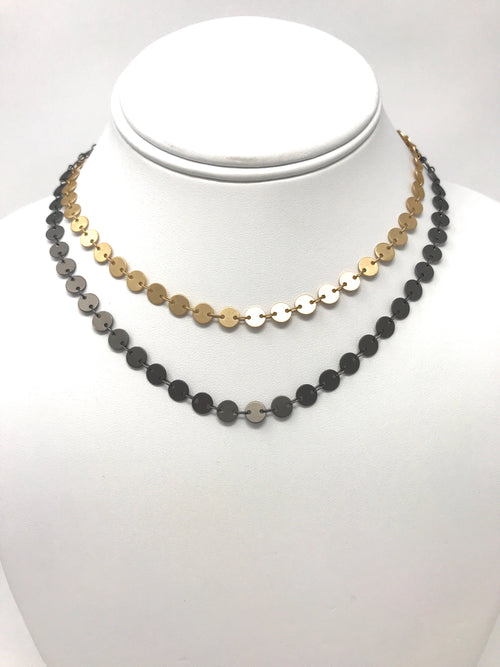 Sequin Chain - Necklace