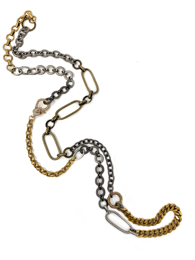 Mixed Metal Chain