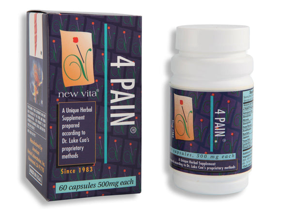 4 Pain-Natural herbal supplement-newvitas