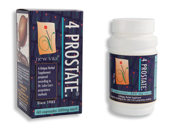 4 Prostate-Natural herbal supplement-newvitas