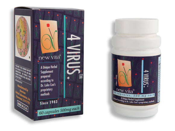 4 Virus-Natural herbal supplement-newvita