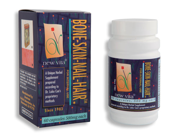 Bone-Skin-Nail-Hair-Natural herbal supplement-newvita