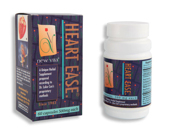 Heart Ease-Natural herbal supplement-newvita