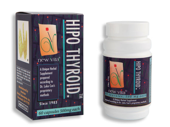 Hipo Thyroid-Natural herbal supplement-newvitas