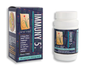 Immuny 5-Natural herbal supplement-newvitas