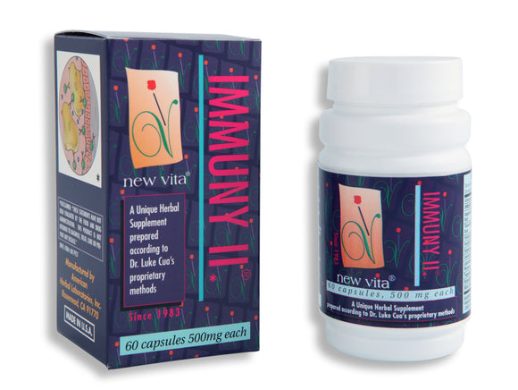 Immuny II-Natural herbal supplement-newvitas