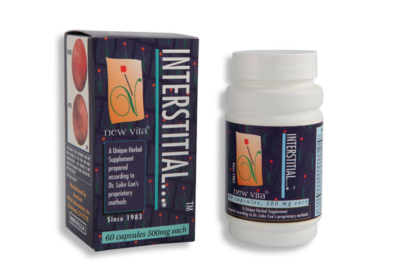 Interstitial-Natural herbal supplement-newvita