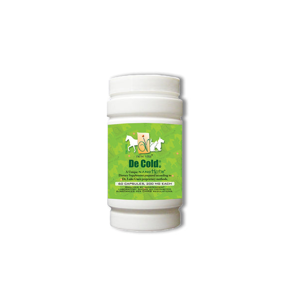 De Cold Vet-Veterinary natural herbal supplement-newvita