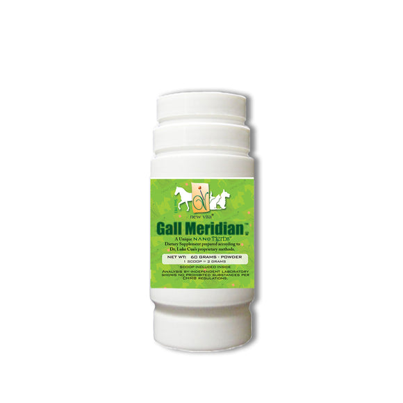 Gall Meridian Vet (For horse & Pony)-Veterinary natural herbal supplement-newvita