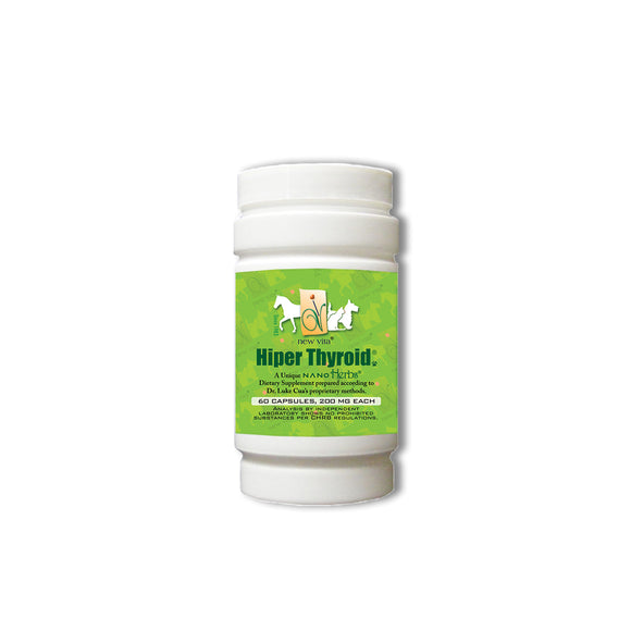 Vet Hiper Thyroid-Veterinary natural herbal supplement-newvitas