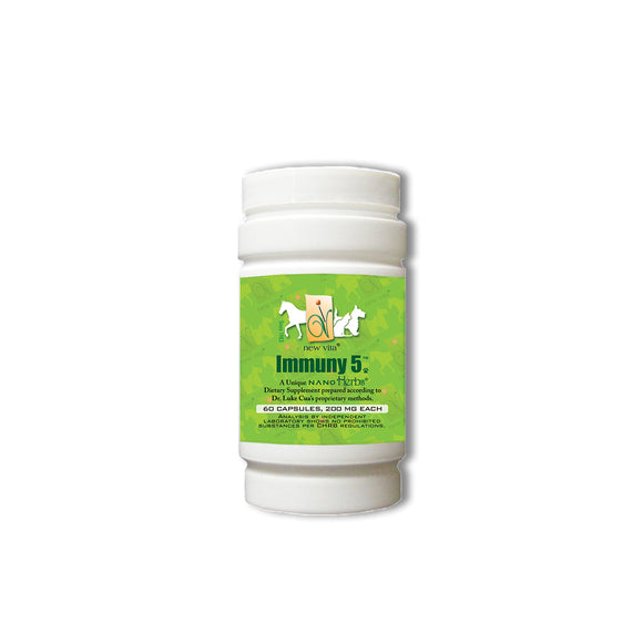 Immuny 5 Vet-Veterinary natural herbal supplement-newvita