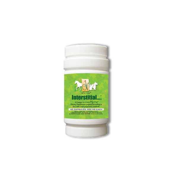 Interstitial Vet-Veterinary natural herbal supplement-newvita