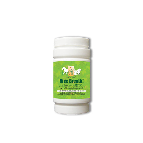 Vet Nice Breath-Veterinary natural herbal supplement-newvitas