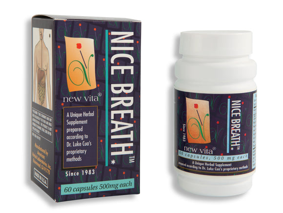 Nice Breath-Natural herbal supplement-newvita