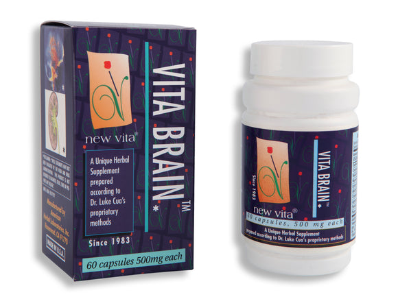 Vita Brain-Natural herbal supplement-newvita