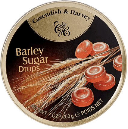 Cavendish and Harvey Barley Sugar Tin