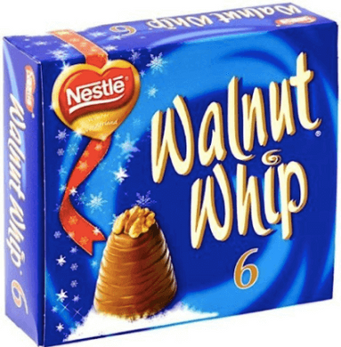 Walnut Whip Christmas 6 pack