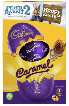 Cadburys Caramel Medium Easter Egg