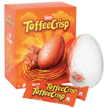 Nestle Toffee Crisp Large Egg