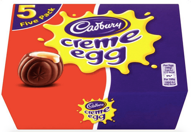 Cadbury's Creme Egg 5 pack