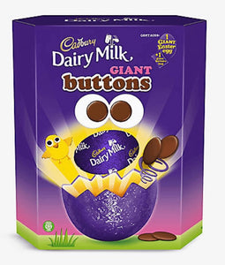 Cadbury's Giant Buttons Extra Large Easter Egg NEW for 2021