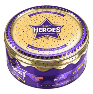 Cadbury Hero's Tin Christmas 2019