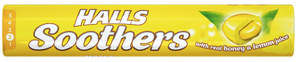 Halls Soothers Lemon