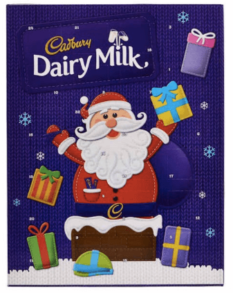 Cadbury's UK Dairy Milk Chocolate Advent Calendar