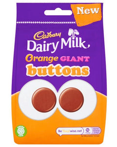 Cadbury's Dairy Milk Orange Giant Buttons