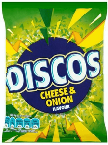 Discos Crisps Cheese and Onion