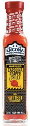 Encona Carolina Reaper Chilli Sauce - TRY AT YOUR OWN RISK!