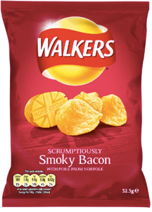 Walkers Smokey Bacon Flavoured Crisps
