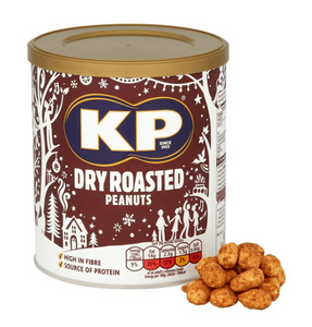 KP Dry Roasted Peanuts Christmas Tub