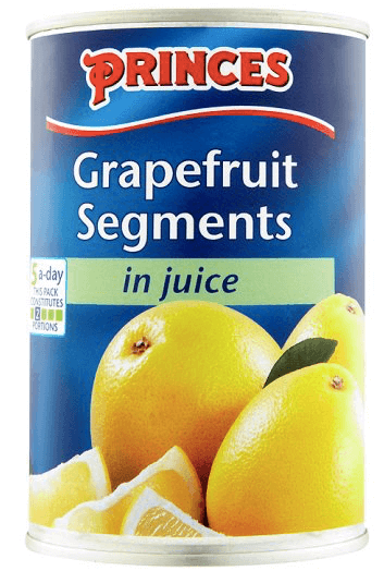 Princes Grapefruit Segments with juice