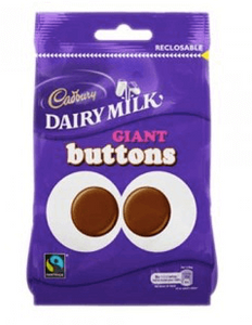 Dairy Milk Giant Buttons Big Bags